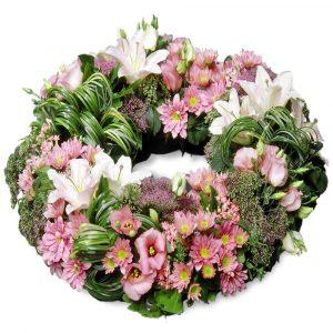 Les couronnes de fleurs deuil