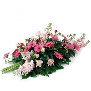 Les gerbes de fleurs deuil