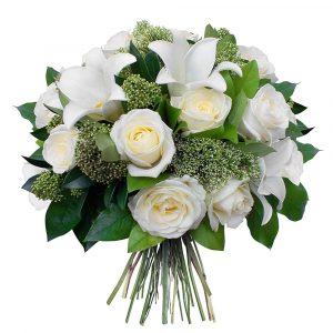 Les bouquets deuil