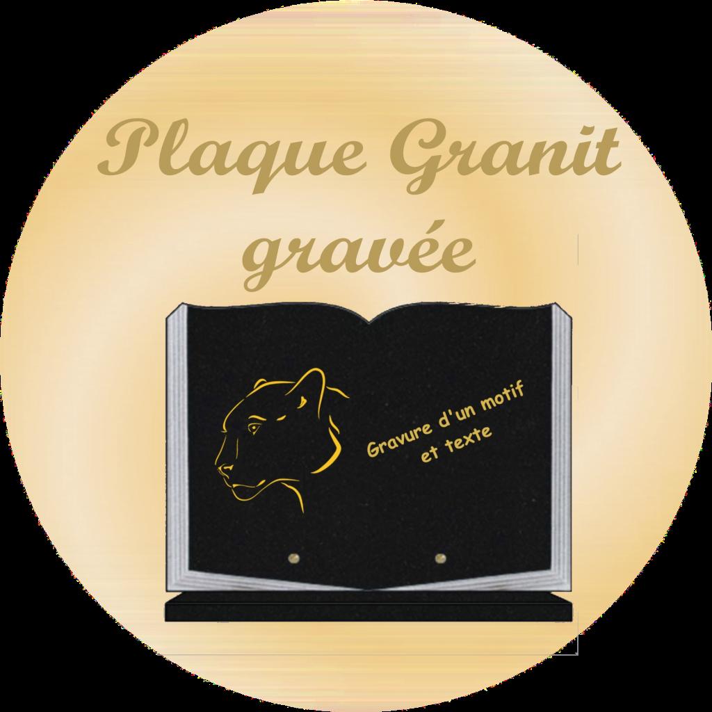 Les plaques granit gravées